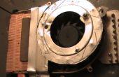 Réparer un portable surchauffe en changeant ventilateur existant à fan BLDC de 12V et améliorer le flux d'air