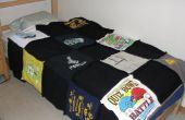 Comment faire une courtepointe sur de vieux T-shirts