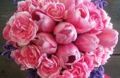 Bouquet de fleurs de printemps diyheart.com
