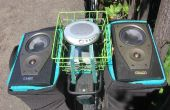 DIY « Street Party vélo Stereo » n'importe qui peut facilement construire avec outils minimaux