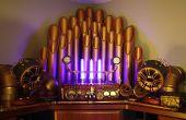 Amplificateur de Steampunk