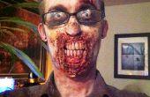Prothèses dentaires personnalisées zombie avec des matériaux Non-SFX