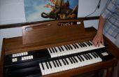 Réparation d'un orgue électronique