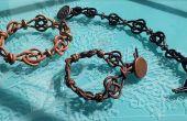Bracelet macramé noeud celtique