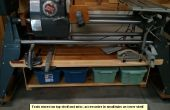 Construire une étagère accessoire pour un ShopSmith Mark V