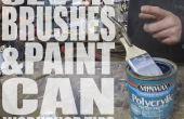 7 pinceaux & peinture peuvent atelier conseils - Jimmy DiResta Collaboration