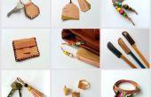 Projets de bricolage Scrap cuir