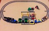 Création de Custom 90° LEGO Train Points pour votre mise en page