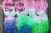 Comment Dip Dye laine serrures
