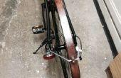 Garde-boue vélo en bois bon marché