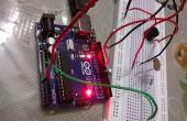 Saisir à l'aide de l'alarme arduino + LDR + piezo buzzer