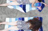 Pondéré de Mod de serviette de plage