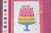 Négocier la 4ème carte d'anniversaire