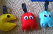 Aucun-cousez en peluche jouet/décorations de Pac Man