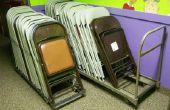 Dolly personnalisé pour les chaises de pliage de métal