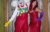 Jessica et Roger Rabbit Costume fait main