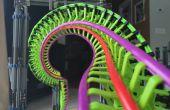 K ' NEX Roller Coaster : Torsadée en acier