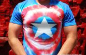 Captain America Tie Dye Vengeurs Shirt