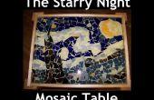 La Table de nuit étoilée mosaïque