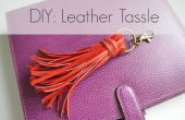 BRICOLAGE en cuir sac Tassle charme