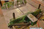 Fallout recoupées traîneau de scie de Table