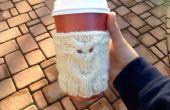 Tricoter chouette café cosy
