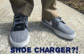 Chaussures piézoélectriques : Chargez votre appareil Mobile en marchant !