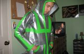 100 % authentique Duct Tape Hoodie (110 + yards de ruban adhésif)