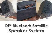 Système d'enceintes DIY Bluetooth Satellite w / caisson de basses