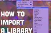 Importer une bibliothèque de Code pour Arduino