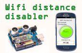 Android WiFi disabler avec capteur de Distance Arduino