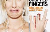 Coupé les doigts - SFX maquillage Tutorial