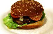 Hamburgers de beurre gastronomique remplie de fromage