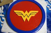 Wonder Woman bouclier