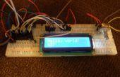 Écran LCD I2C bricolage avec entrées