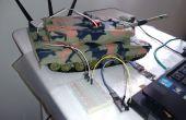 Jouet RC Arduino PC contrôlé par 2 fils (signal et sol)