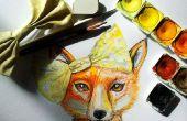 Comment peindre un renard en aquarelle