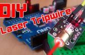 BRICOLAGE | Système de sécurité simple Arduino Laser Tripwire !