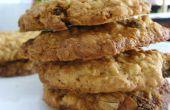 Biscuits à l'avoine de cannelle et raisins - meilleure que jamais !