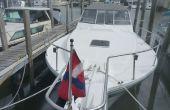 Faire une couverture de guidon pour votre bateau