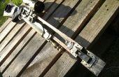 Steampunk dystopique Sniper Rifle (ARC à mercure)