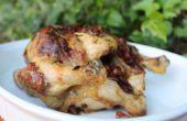 Poulet rôti au beurre chorizo
