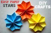 Tutoriels d'artisanat bricolage - faciles papier étoiles