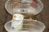 Fan Housing paniers pour rangement de la cuisine