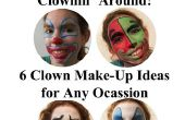 6 idées de maquillage de clown