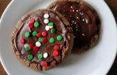 Cookies chocolat-menthe