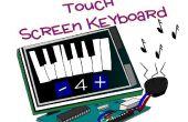 Clavier à écran tactile de l'Arduino