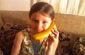 Combiné sans fil Bluetooth banane téléphone