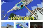 Yatch de Minecraft-steve