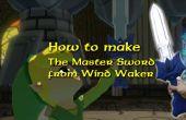 Foamboard Master Sword (non alimentés) de la légende de Zelda Windwaker